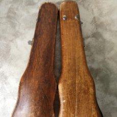 Instrumentos musicales: ANTIGUO ESTUCHE DE MADERA PARA VIOLIN. Lote 120713175