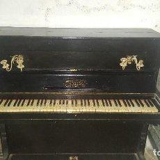 Instrumentos musicales: PIANO SIGLO XIX FUNCIONA PERFECTO MARCA PIAZZA. Lote 121019811