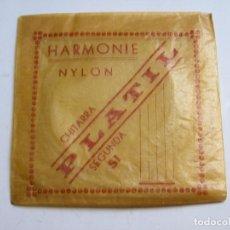 Instrumentos musicales: CUERDA PARA GUITARRA 2ª NYLON PLATIL. Lote 121595263