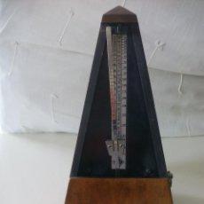Instrumentos musicales: METRÓNOMO A CUERDA MARCA CREO QUE WITTNER. 206. MADE IN GERMANY.. Lote 121623711