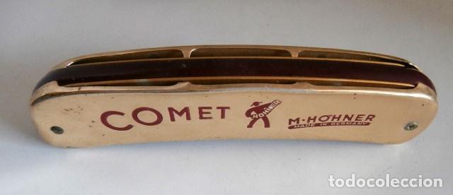 Instrumentos musicales: ARMONICA CON FUNDA MARCA COMET M.HOHNER ALEMANA - Foto 3 - 121742187