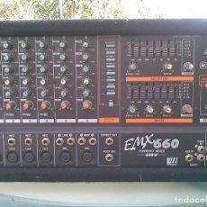 Instrumentos musicales: MESA YAMAHA 600 WATIOS AUTOAMPLIFICADA. Lote 121761855