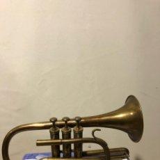 Instrumentos musicales: CORNETÍN SIN BOQUILLA. Lote 122123954