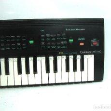 Instrumentos musicales: ORGANO TECLADO PIANO ELECTRONICO -CASIO MT-140 - JAPAN 80S -CASIOTONE MT140. Lote 122477391