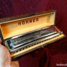 Instrumentos musicales: ARMÓNICA PARA COLECCIONISTAS, DE M. HOHNER, GERMANY, THE 64 CHROMONICA, AÑOS 50. Lote 123387067