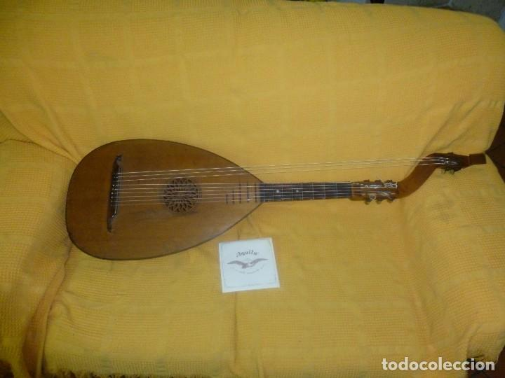 LAÚD BAJO ALEMÁN (Música - Instrumentos Musicales - Guitarras Antiguas)