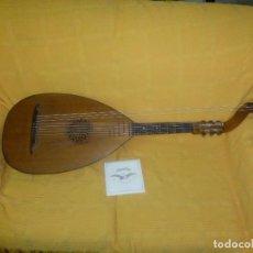 Instrumentos musicales: LAÚD BAJO ALEMÁN. Lote 124306447