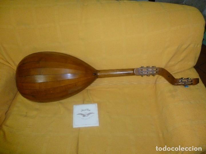 Instrumentos musicales: Laúd bajo alemán - Foto 2 - 124306447