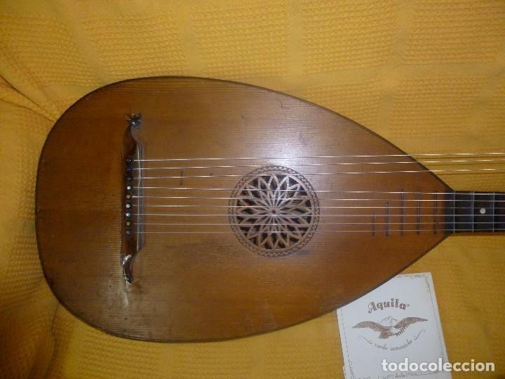 Instrumentos musicales: Laúd bajo alemán - Foto 3 - 124306447