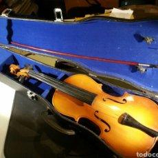 Instrumentos musicales: VIOLÍN CON FUNDA MARCA ÁNGEL. Lote 124463754
