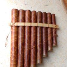 Instrumentos musicales: FLAUTA CAÑA DE BAMBU, INSTRUMENTO MUSICAL ,,,INST365. Lote 149836165