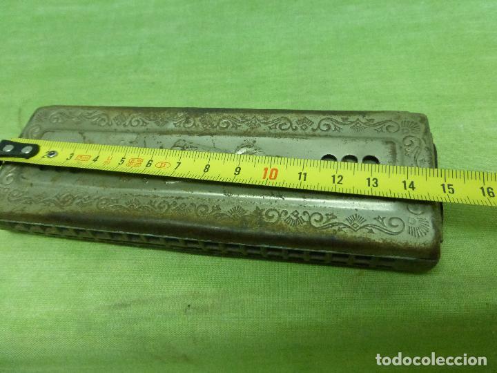 Instrumentos musicales: Antigua Armonica O FADO PORTUGUEZ C de M. HOHNER Made in Germany - Foto 2 - 125226291