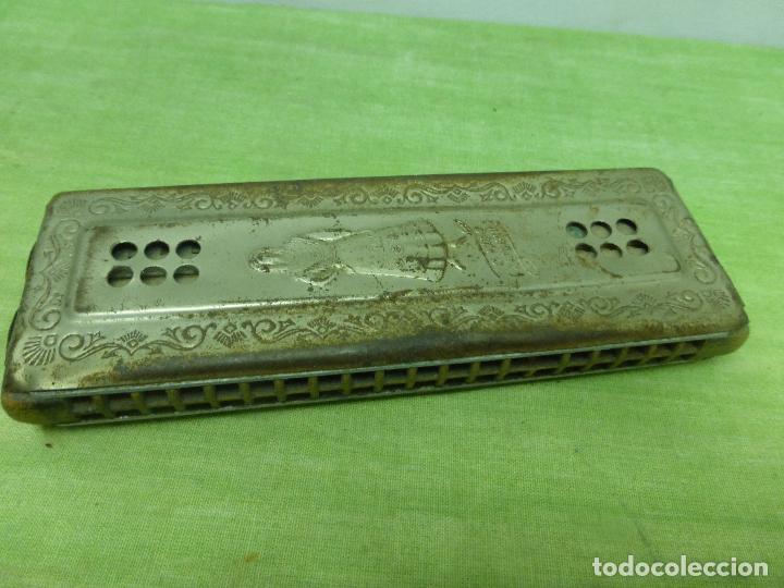 Instrumentos musicales: Antigua Armonica O FADO PORTUGUEZ C de M. HOHNER Made in Germany - Foto 7 - 125226291