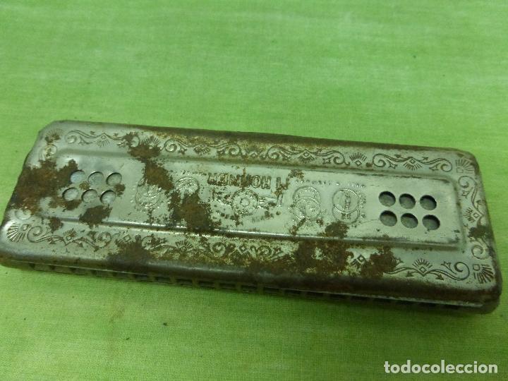 Instrumentos musicales: Antigua Armonica O FADO PORTUGUEZ C de M. HOHNER Made in Germany - Foto 8 - 125226291