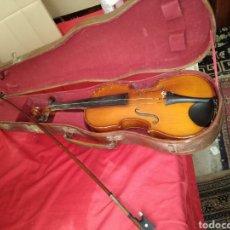 Instrumentos musicales: ANTIGUO VIOLIN CON ESTUCHE. Lote 125235650