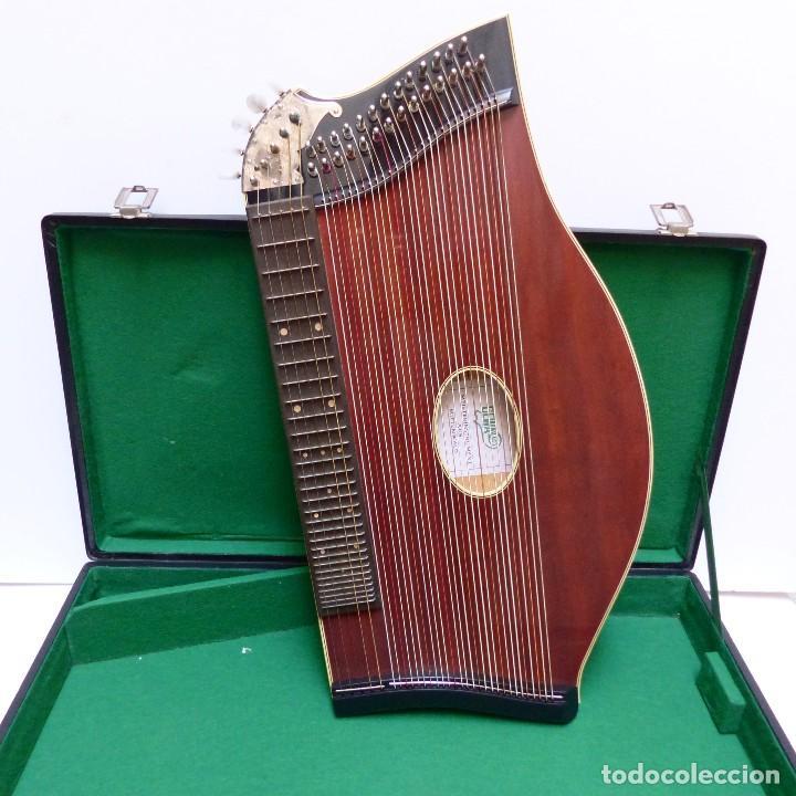 ESTADO PERFECTO. ANTIGUA CÍTARA DE GEWA MITTENWALD EN SU CAJA ORIGINAL. ALEMANIA 1950 - 1960 (Música - Instrumentos Musicales - Cuerda Antiguos)
