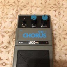 Instrumentos musicales: PEDAL CHORUS CHR 5 LOCOBOX-AÑOS 80-MADE IN JAPAN-NUEVO. Lote 125372610