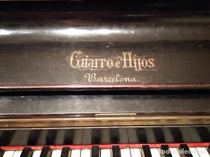 PIANO ANTIGUO GUARRO E HIJOS BARCELONA (Música - Instrumentos Musicales - Pianos Antiguos)