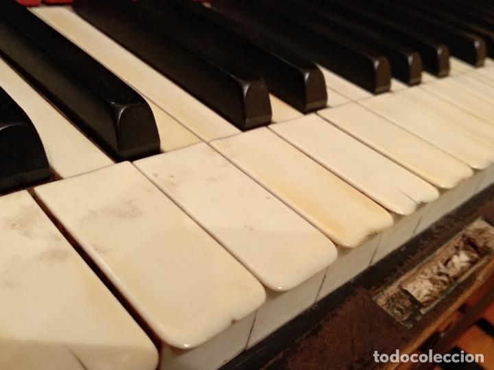 Instrumentos musicales: PIANO ANTIGUO GUARRO E HIJOS BARCELONA - Foto 9 - 125853903