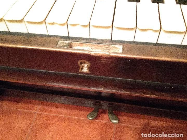 Instrumentos musicales: PIANO ANTIGUO GUARRO E HIJOS BARCELONA - Foto 11 - 125853903
