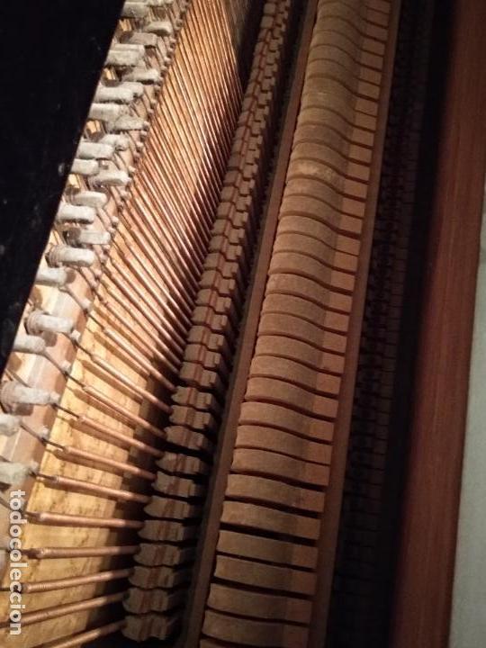Instrumentos musicales: PIANO ANTIGUO GUARRO E HIJOS BARCELONA - Foto 13 - 125853903