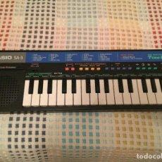 Instrumentos musicales: CASIO SA 3 SA3 PULSE CODE MODULATION KREATEN ORGANO PIANO ELECTRONIC MUSICAL INSTRUMENT. Lote 125934255