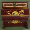 Instrumentos musicales: ORGANILLO DE CILINDRO. MARCA REIG. MODELO VERBENA. MADERA LACADA. AÑOS 50.. Lote 126447063