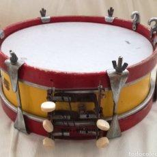 Instrumentos musicales: ANTIGUO TAMBOR BANDERA ESPAÑOLA.. Lote 126710902