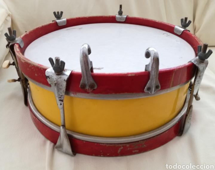 Instrumentos musicales: Antiguo Tambor Bandera Española. - Foto 2 - 126710902