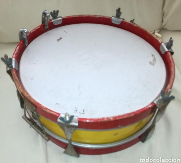 Instrumentos musicales: Antiguo Tambor Bandera Española. - Foto 3 - 126710902