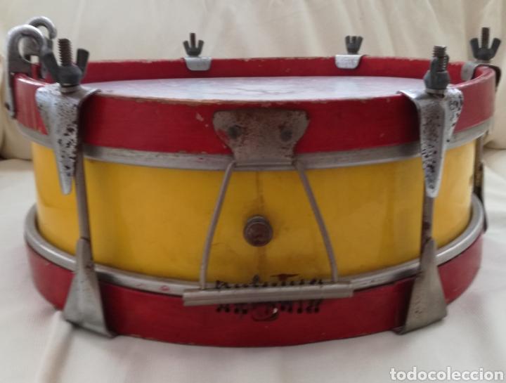 Instrumentos musicales: Antiguo Tambor Bandera Española. - Foto 4 - 126710902