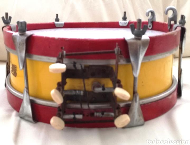 Instrumentos musicales: Antiguo Tambor Bandera Española. - Foto 5 - 126710902
