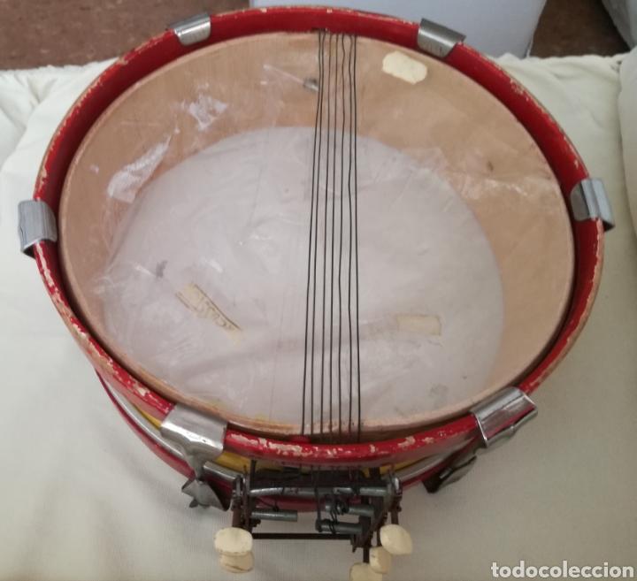 Instrumentos musicales: Antiguo Tambor Bandera Española. - Foto 6 - 126710902