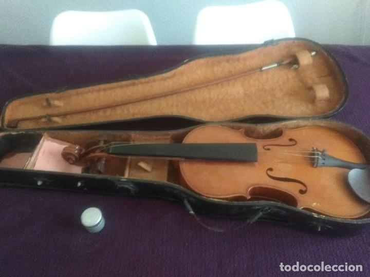 VIOLÍN DE NICOLÁS DUCHENE (Música - Instrumentos Musicales - Cuerda Antiguos)