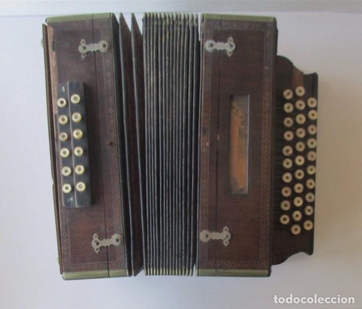 Instrumentos musicales: ACORDEON DIATONICO - COMM. PAOLO SOPRANI E FIGLI, ANCORA ITALIA - Foto 6 - 251136490