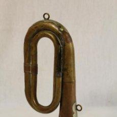 Instrumentos musicales: CORNETA ANTIGUA HONSUY. Lote 127658903