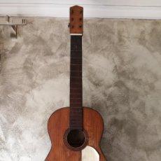 Instrumentos musicales: ANTIGUA GUITARRA ESPAÑOLA DE PALILLOS CASA LUNA PARA RESTAURAR. Lote 127766055