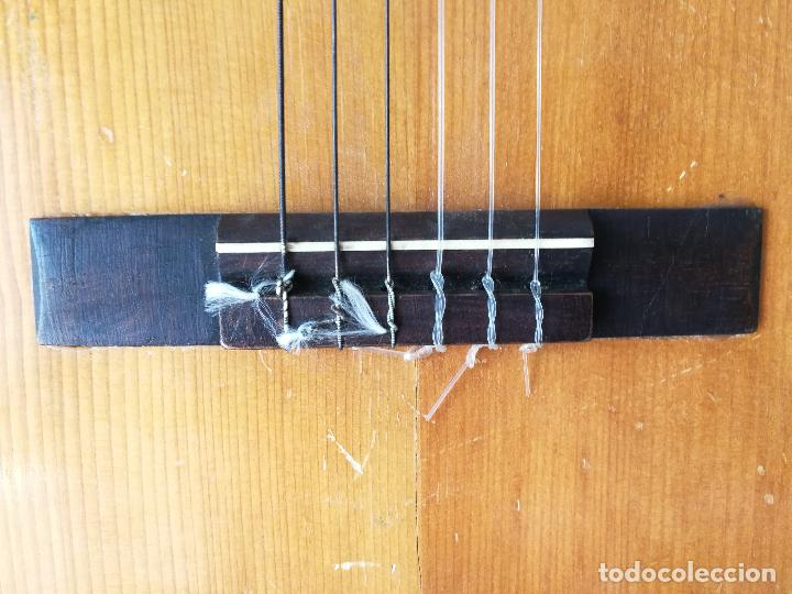 Instrumentos musicales: ANTIGUA GUITARRA ESPAÑOLA JOSÉ PENADES - Foto 4 - 127771091