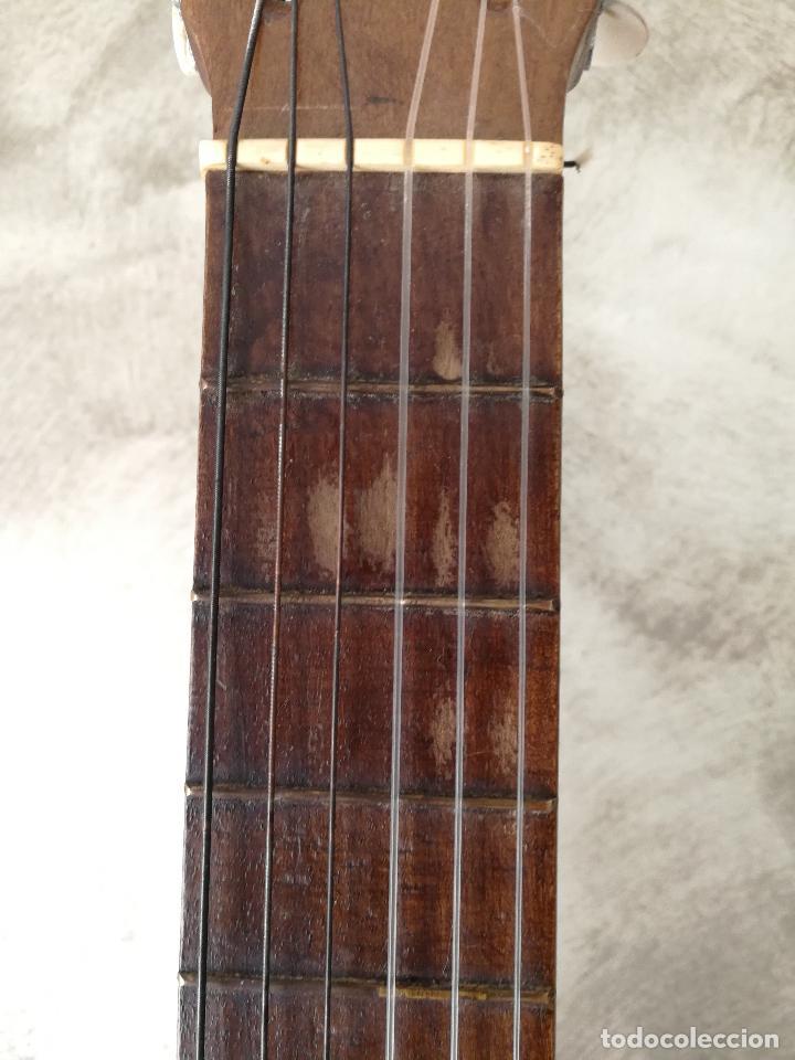 Instrumentos musicales: ANTIGUA GUITARRA ESPAÑOLA JOSÉ PENADES - Foto 8 - 127771091