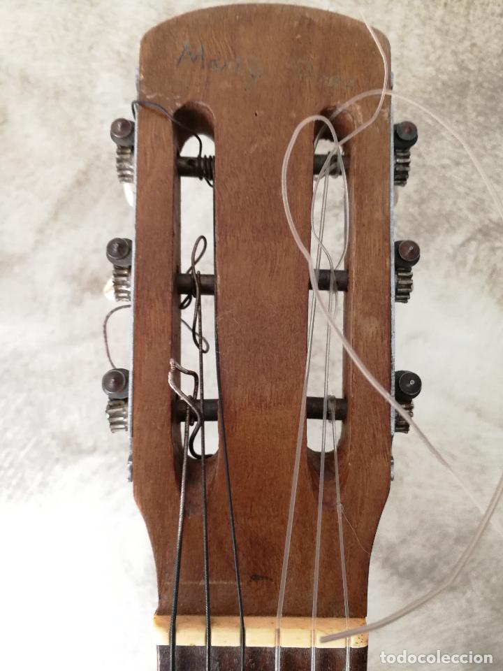 Instrumentos musicales: ANTIGUA GUITARRA ESPAÑOLA JOSÉ PENADES - Foto 9 - 127771091