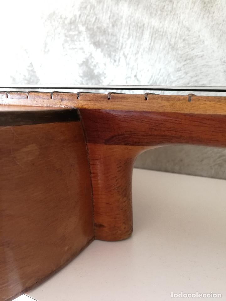Instrumentos musicales: ANTIGUA GUITARRA ESPAÑOLA JOSÉ PENADES - Foto 12 - 127771091