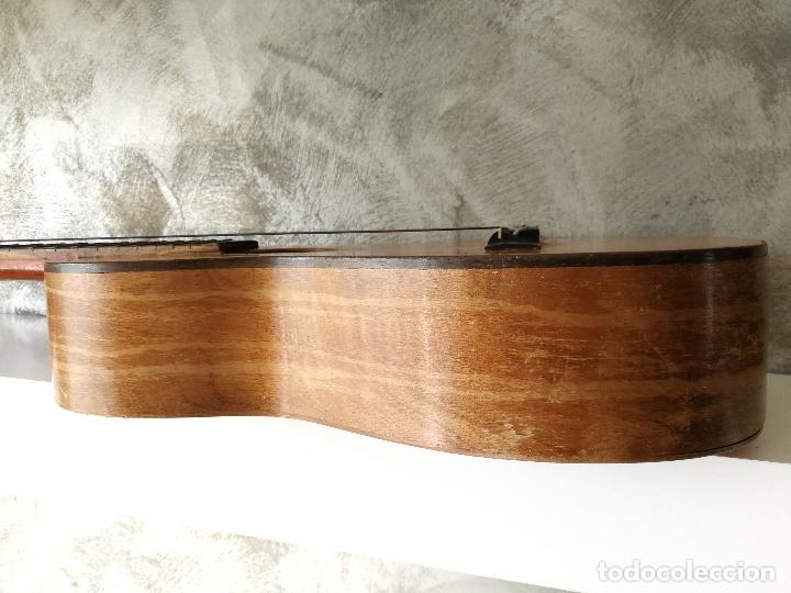 Instrumentos musicales: ANTIGUA GUITARRA ESPAÑOLA JOSÉ PENADES - Foto 19 - 127771091