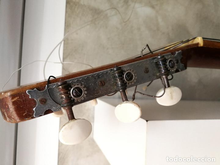 Instrumentos musicales: ANTIGUA GUITARRA ESPAÑOLA JOSÉ PENADES - Foto 23 - 127771091