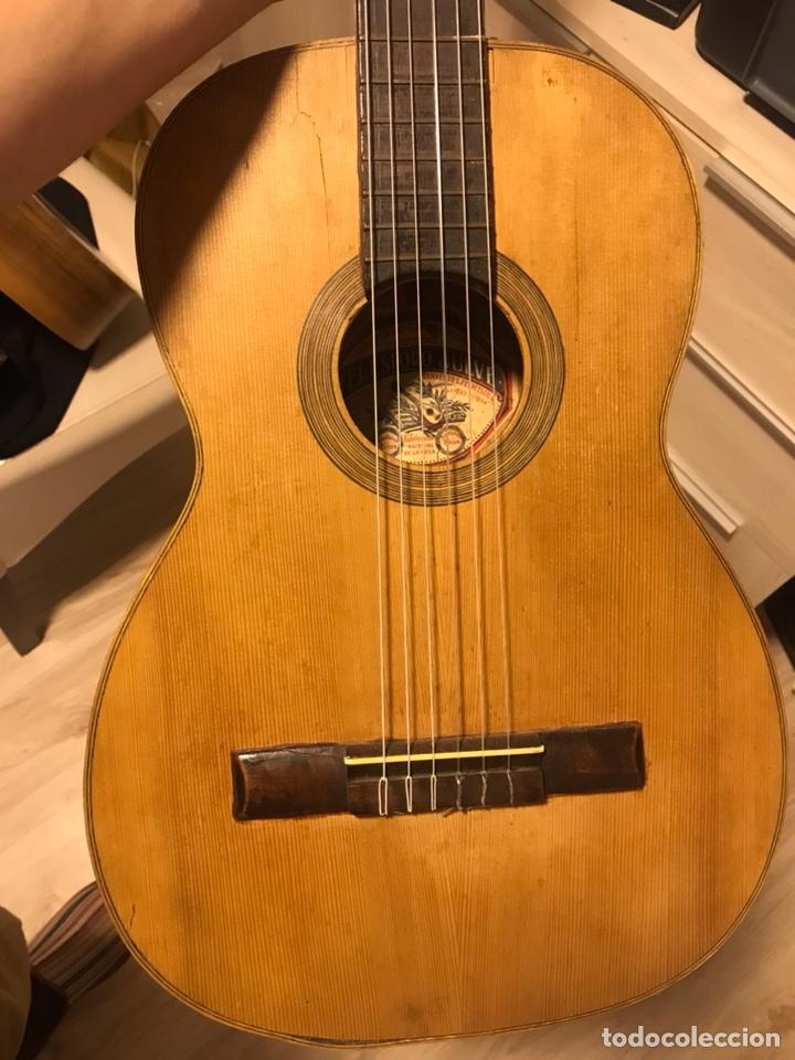 GUITARRA TELESFORO JULVE (Música - Instrumentos Musicales - Guitarras Antiguas)