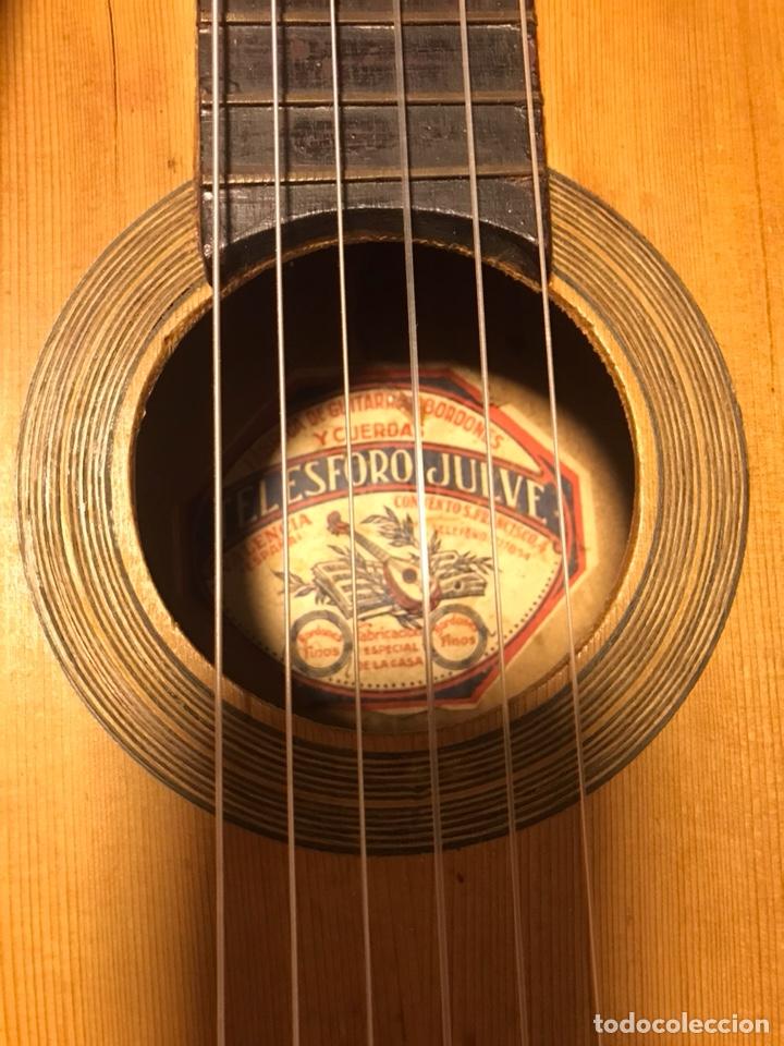Instrumentos musicales: Guitarra Telesforo Julve - Foto 2 - 127980979