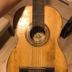 Instrumentos musicales: GUITARRA TELESFORO JULVE. Lote 127981048