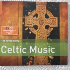 Instrumentos musicales: CELTIC MUSIC. THE ROUGH GUIDE. DOBLE COMPACTO.. Lote 128042027