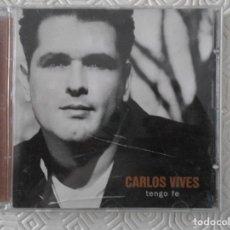 Instrumentos musicales: CARLOS VIVES. TENGO FE. COMPACTO CON 10 CANCIONES.. Lote 128042195