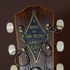 Instrumentos musicales: GUITARRA IGNACIO FLETA DE 1943. Lote 128084199