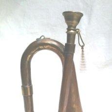 Instrumentos musicales: CORNETA PEQUEÑA, LATÓN. MED. 14 CM ALTURA. Lote 128530975